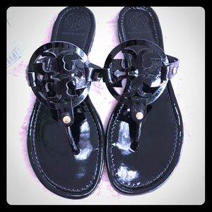 ✅✅✅❤️❤️❤️💋💋Tory Burch Miller black sandals